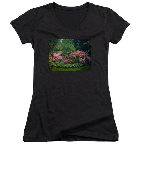 Urban Flower Garden Women's V-Neck