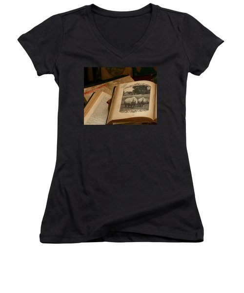 Wild Wonders Women's V-Neck
