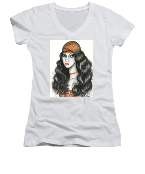 Gypsy Women's V-Neck T-Shirt