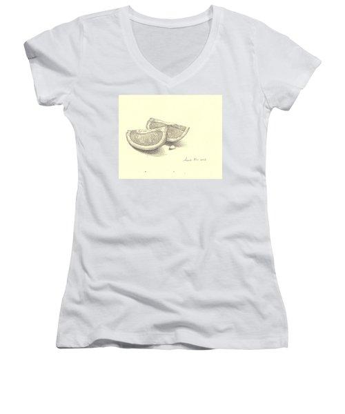 0021 Women's V-Neck T-Shirt