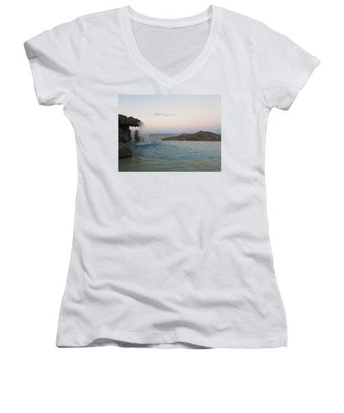 Evening Overlook Women's V-Neck T-Shirt