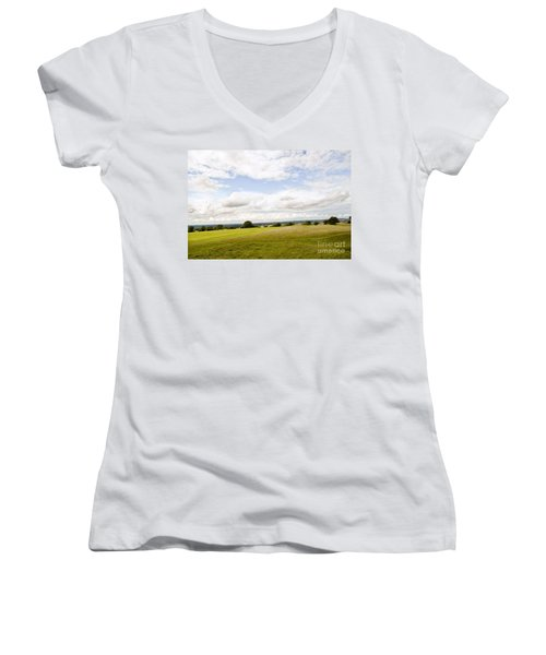 Hill Of Tara Women's V-Neck T-Shirt