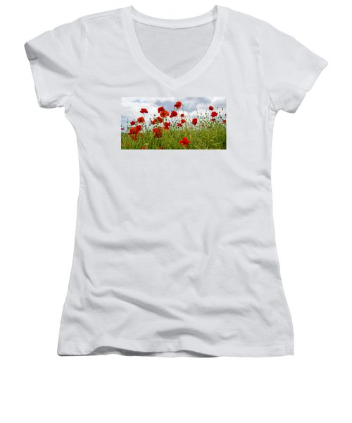 In Flanders Fields Women's V-Neck