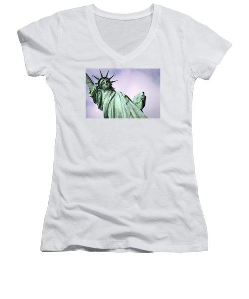 Liberty Lady Women's V-Neck