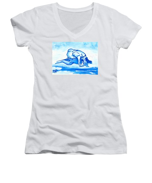 Ocean Of Desire Women's V-Neck