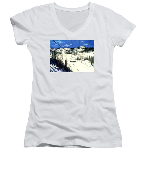 Paradise Bowl Women's V-Neck T-Shirt