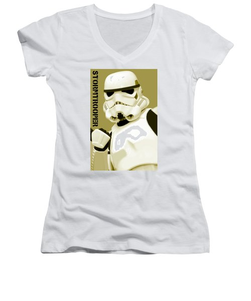 Star Wars Stormtrooper Women's V-Neck T-Shirt