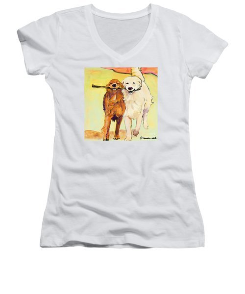 Stick With Me Women's V-Neck