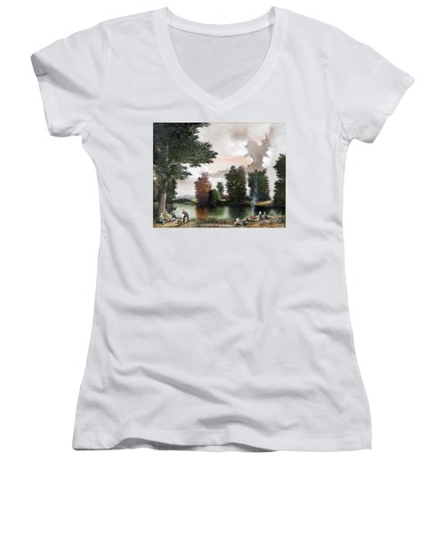 The Picnic Women's V-Neck