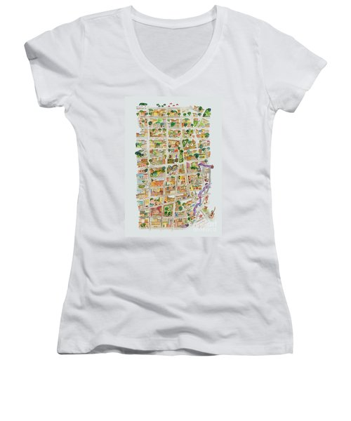 The Way West Village Women's V-Neck (Athletic Fit)