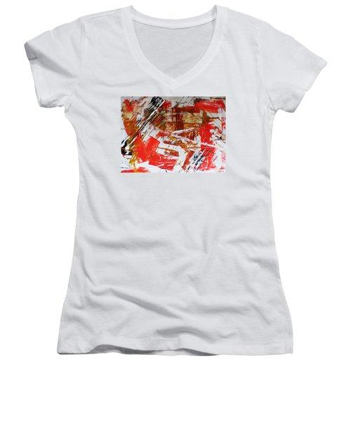 Comission 23 Uplifting Behaviour Women's V-Neck T-Shirt