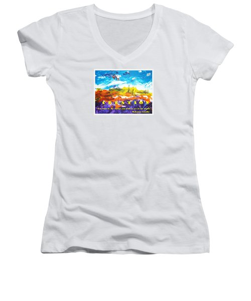 Creation Women's V-Neck (Athletic Fit)