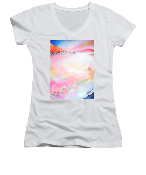 Evening Cruise Women's V-Neck