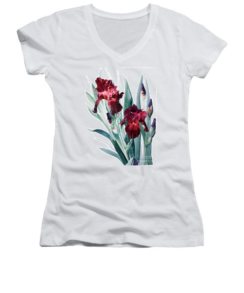 Iris Donatello Women's V-Neck T-Shirt