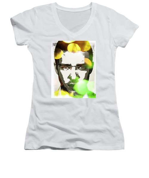 Justin Timberlake Women's V-Neck T-Shirt