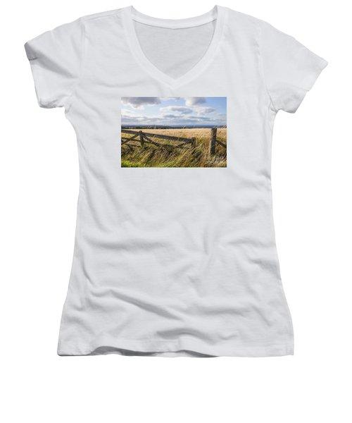 Open Gate Women's V-Neck T-Shirt