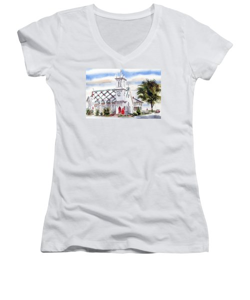 St Pauls Episcopal Church  Women's V-Neck (Athletic Fit)