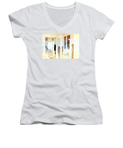 2 The Hallway Women's V-Neck (Athletic Fit)