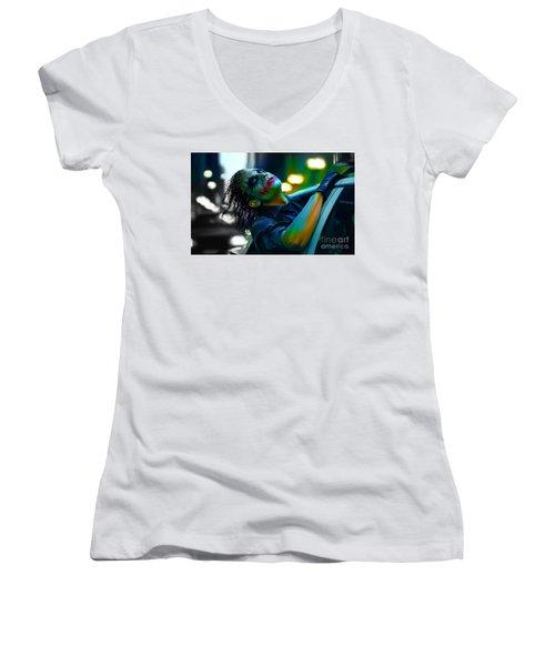Heath Ledger Women's V-Neck T-Shirt