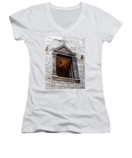 Views Of Split Croatia Women's V-Neck T-Shirt