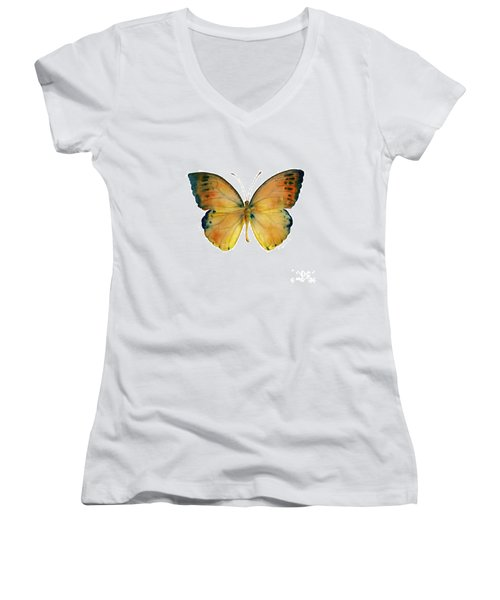 53 Leucippe Detanii Butterfly Women's V-Neck
