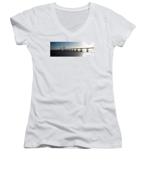 Fine Art Women's V-Neck