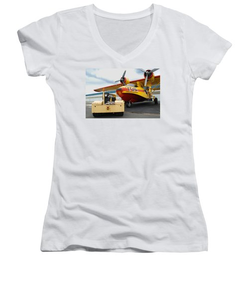 708 Women's V-Neck T-Shirt