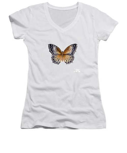 77 Cethosia Butterfly Women's V-Neck