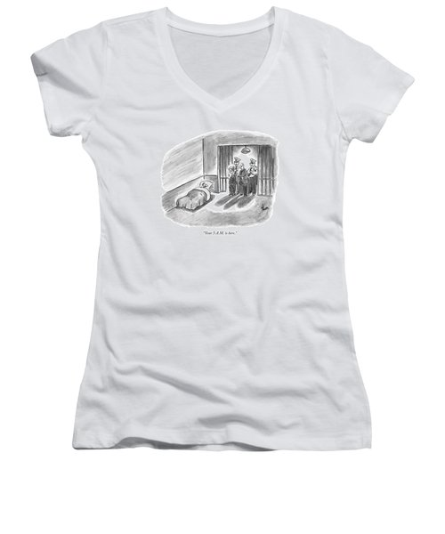 Your 5 A.m. Is Here Women's V-Neck