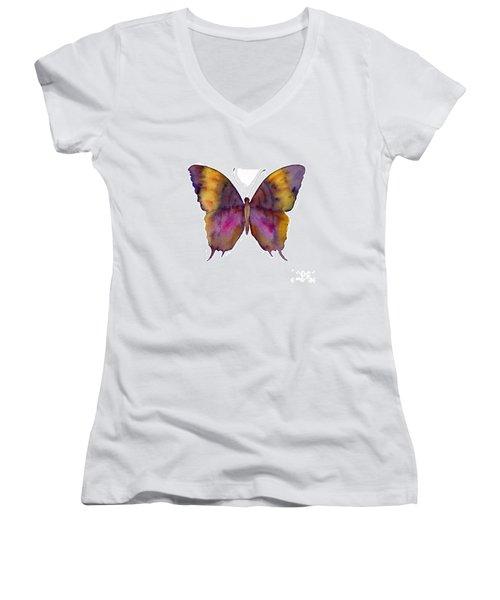 99 Marcella Daggerwing Butterfly Women's V-Neck