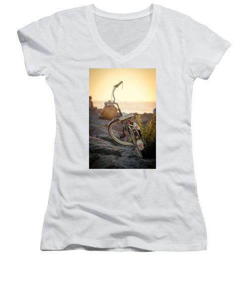 A Bike And Chi Women's V-Neck