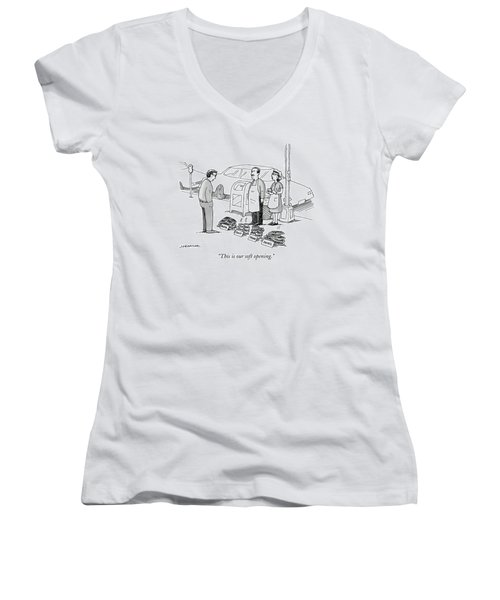 This Is Our Soft Opening Women's V-Neck