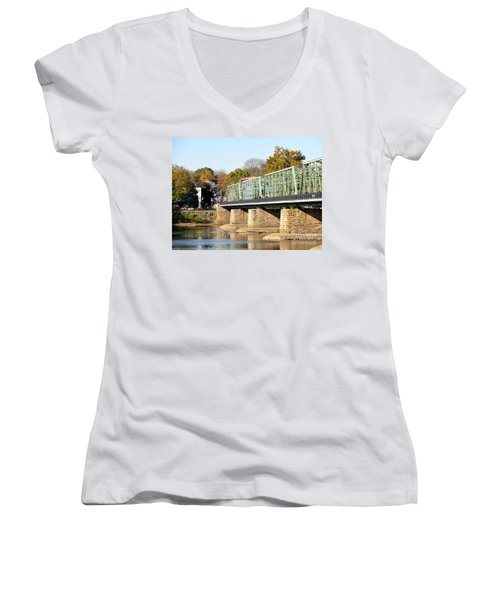 A Day For Tourists Women's V-Neck (Athletic Fit)