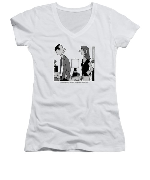 A Husband To His Wife Women's V-Neck