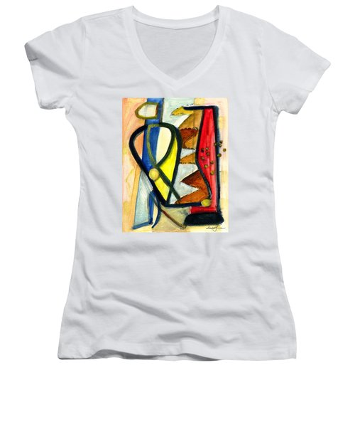A Perfect Image Women's V-Neck (Athletic Fit)