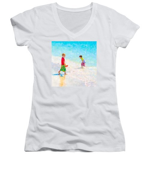 A Summer To Remember V Women's V-Neck (Athletic Fit)