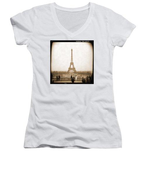 A Walk Through Paris 5 Women's V-Neck
