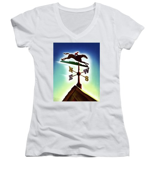 A Weather Vane Women's V-Neck