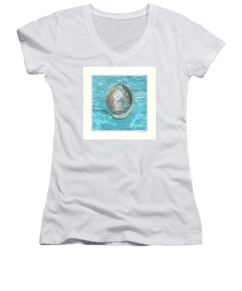 Abalone Underwater Women's V-Neck