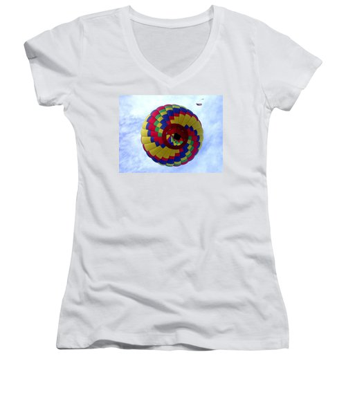 Above And Beyond Women's V-Neck