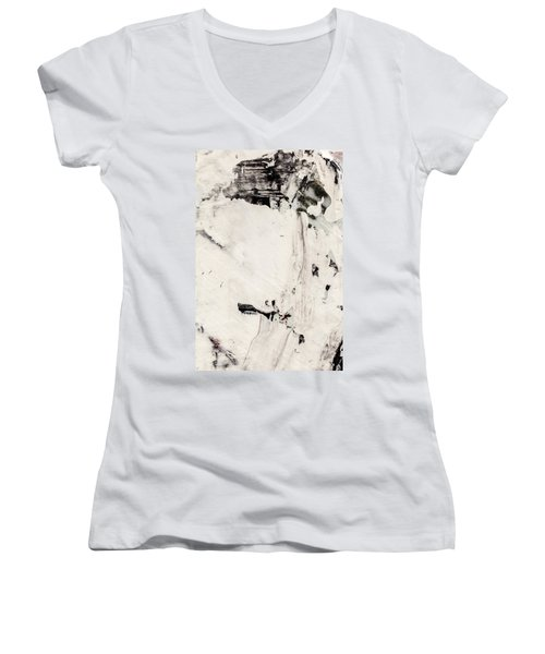 Abstract Original Painting Number Four Women's V-Neck