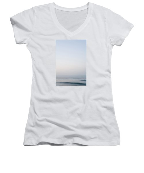 Abstract Seascape 2 Women's V-Neck T-Shirt