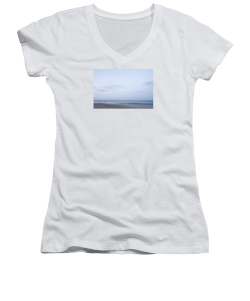 Abstract Seascape No. 08 Women's V-Neck T-Shirt