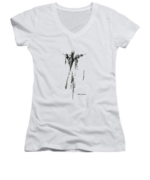 Abstract Series I Women's V-Neck
