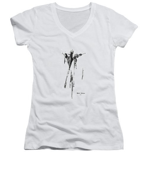 Abstract Series I Women's V-Neck