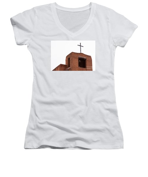 Adobe Steeple Women's V-Neck (Athletic Fit)
