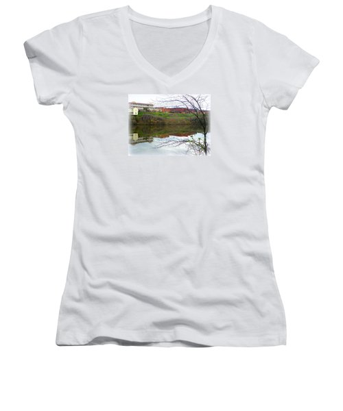 Alabama River Selma 3 Women's V-Neck T-Shirt