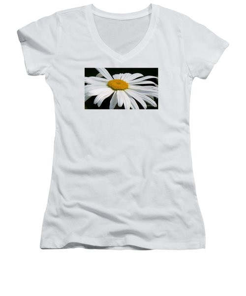 Women's V-Neck T-Shirt (Junior Cut) featuring the photograph Always by France Laliberte
