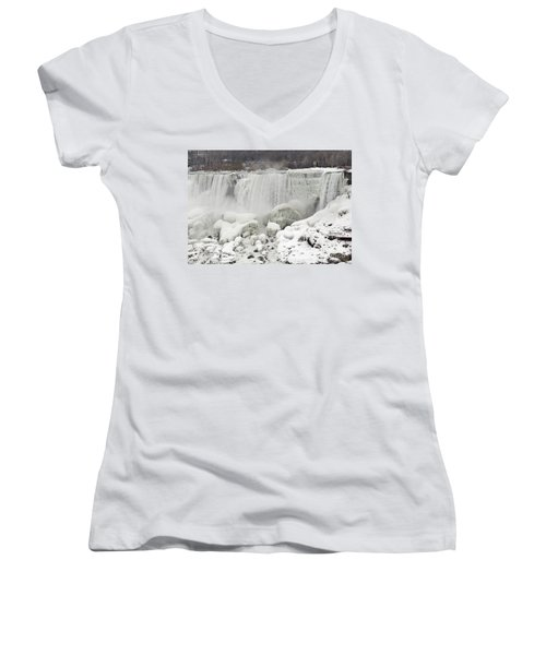 American Falls Women's V-Neck T-Shirt