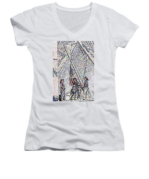 American Spirit Women's V-Neck T-Shirt
